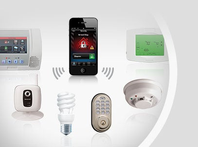 Home Security Email and Text Alerts
