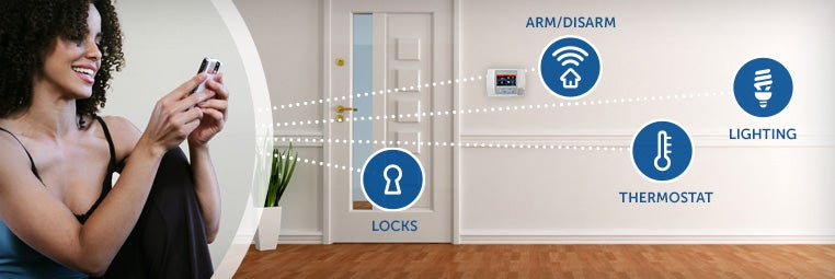 Remote Arm and Disarm Home Security Systems image