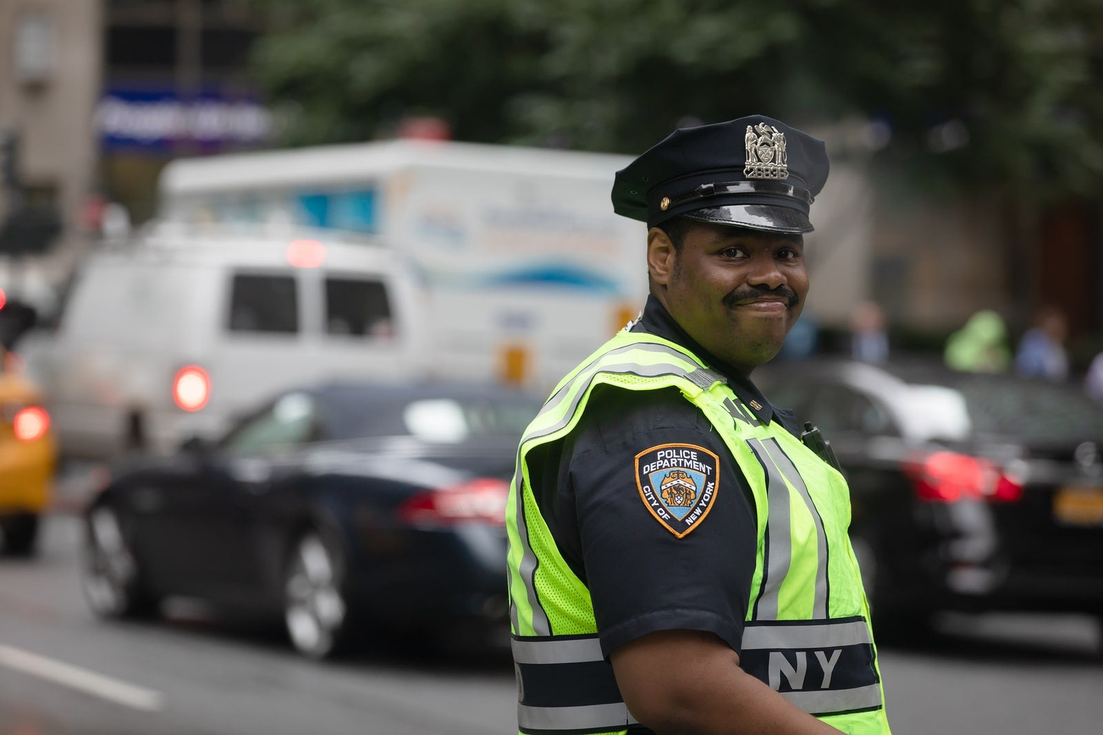 police officer in nyc