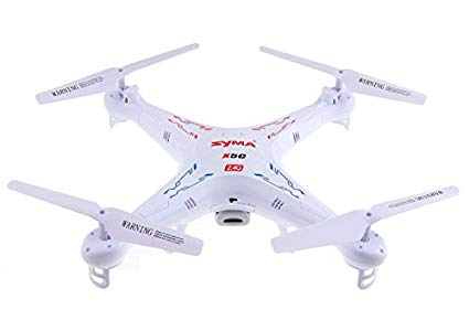 Syma X5C Explorers 2.4G 4CH 6-Axis Gyro RC Quadcopter With HD Camera Image