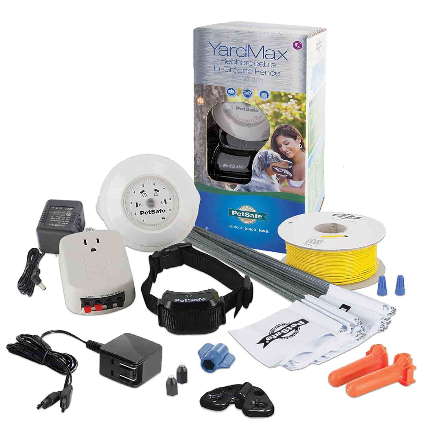 PetSafe Yardmax Rechargeable In-Ground Pet Fencing System Image