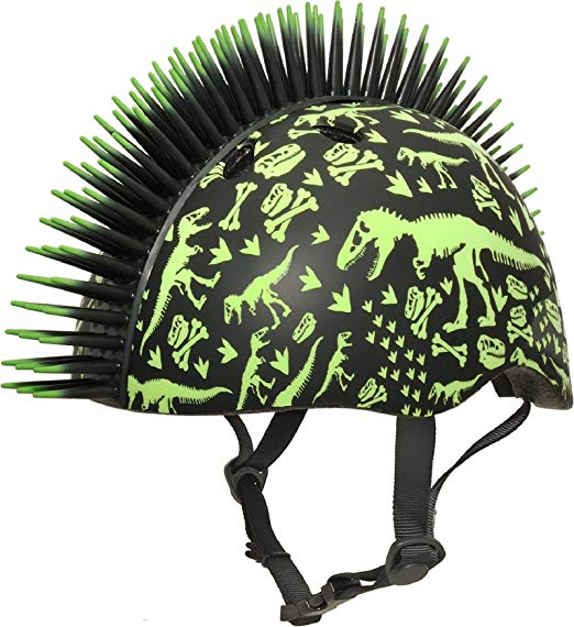 Raskullz Mohawk Child Bike Helmet Product Image