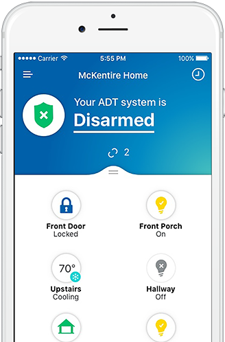 ADT Security Control Mobile App