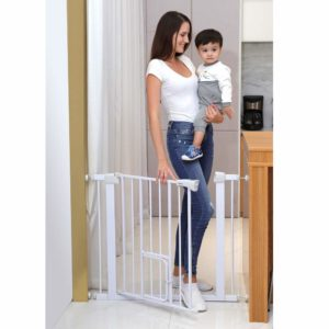 Cumbor Auto Close Safety Baby Gate