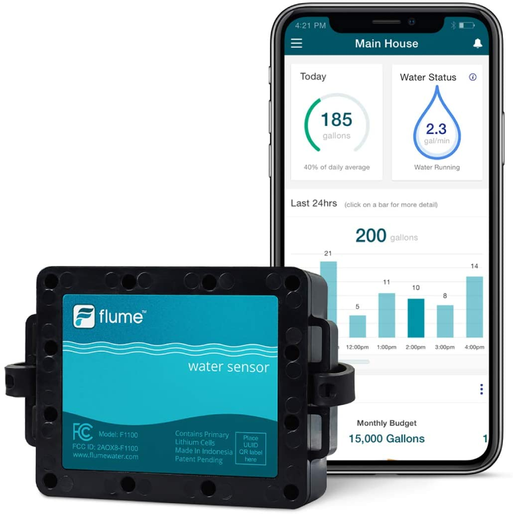 Flume Smart Home Water Monitoring System Image