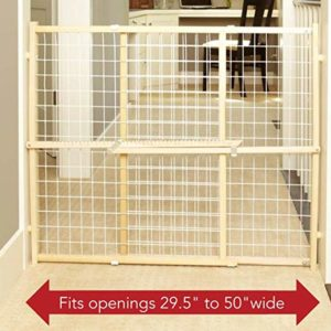 North States Wire Mesh Pet Gate