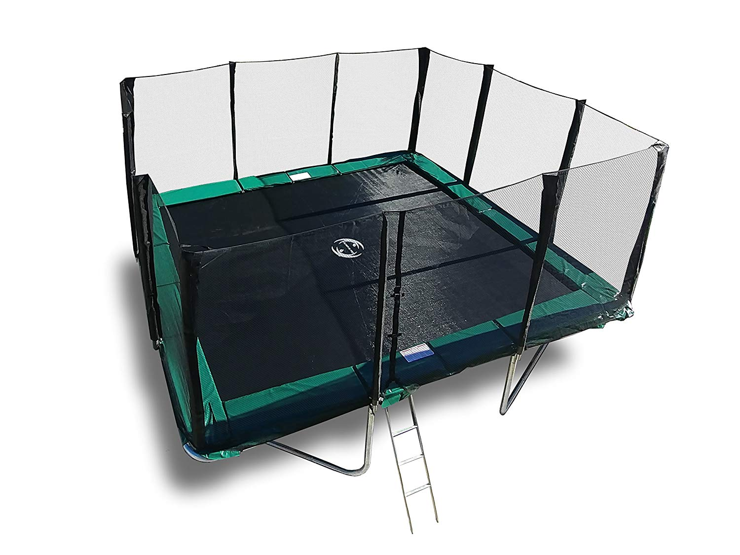 Galactic Xtreme Gymnastic Rectangle Trampoline with Net Enclosure