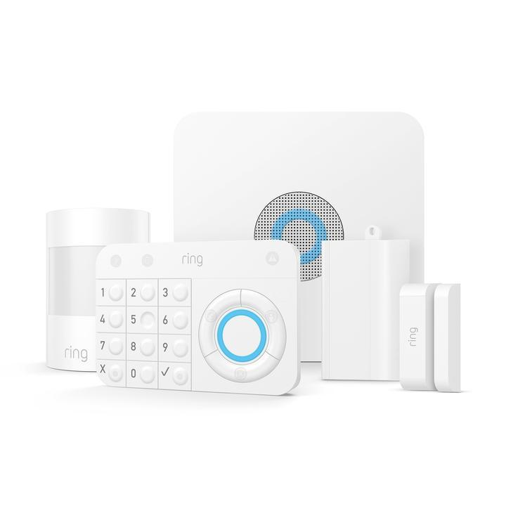 This Ring Alarm Security Kit comes with 5 devices and is perfect for apartments and condos. You can have motion detection for up to 1,000 square feet, allowing you to cover one door or window and a room.