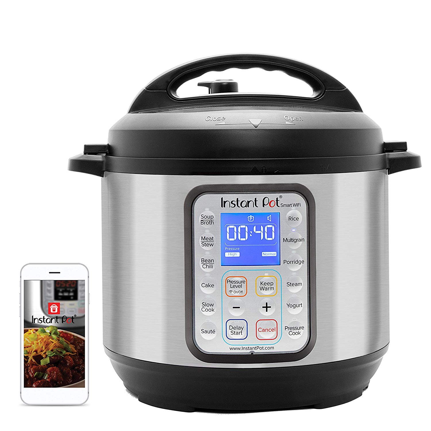 Smart Instant Pot and app