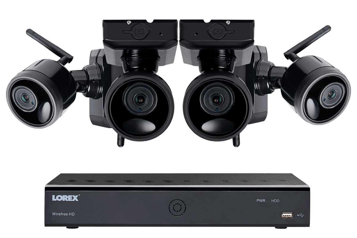 Lorex 4 Cameras - 1080p Outdoor Wireless Camera System Product Image