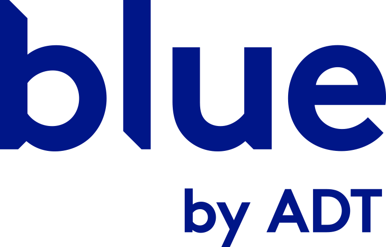 blue by adt logo