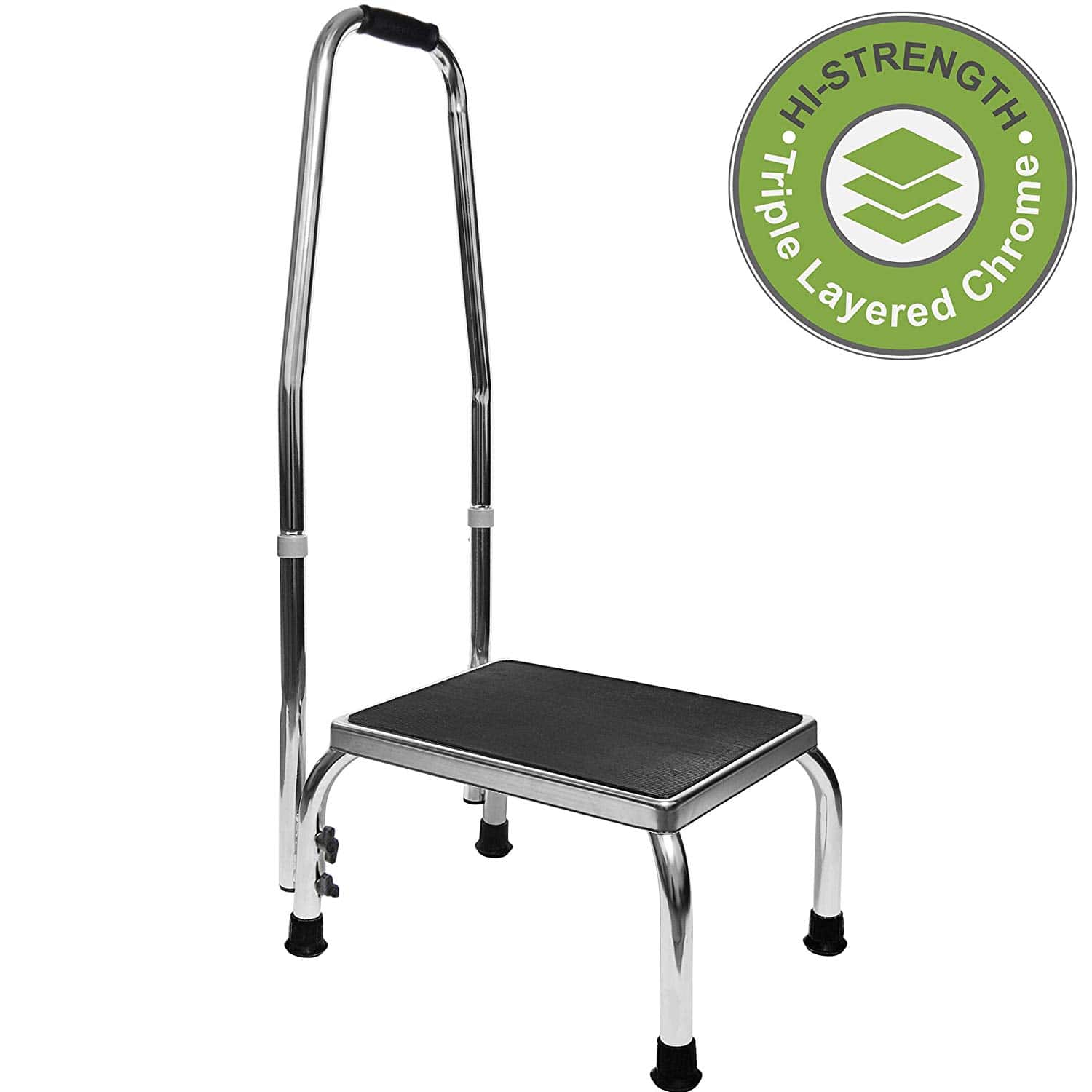 Vaunn Medical Foot Step Stool with Handle Image