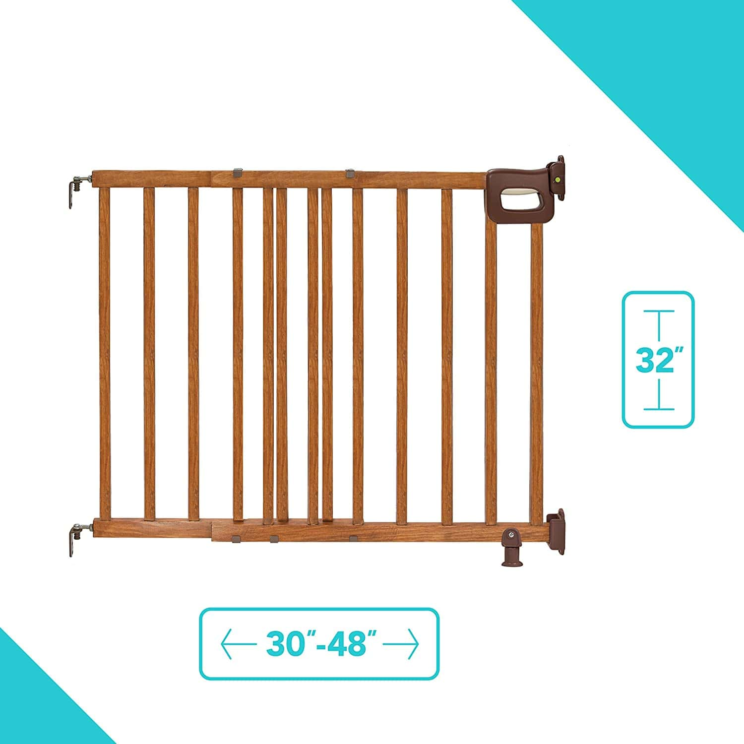Summer Deluxe Wooden Baby Gate Product Image