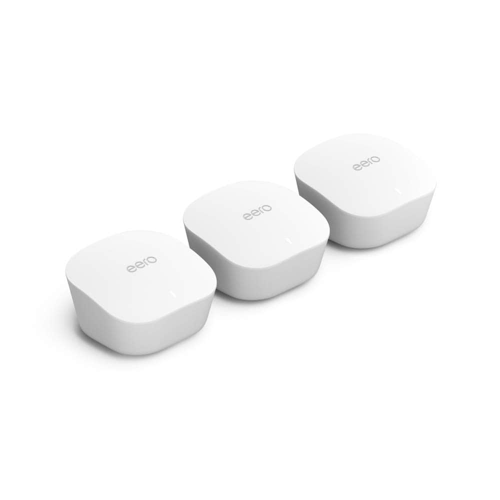 Amazon eero Mesh Wi-Fi System (3-pack) Product Image