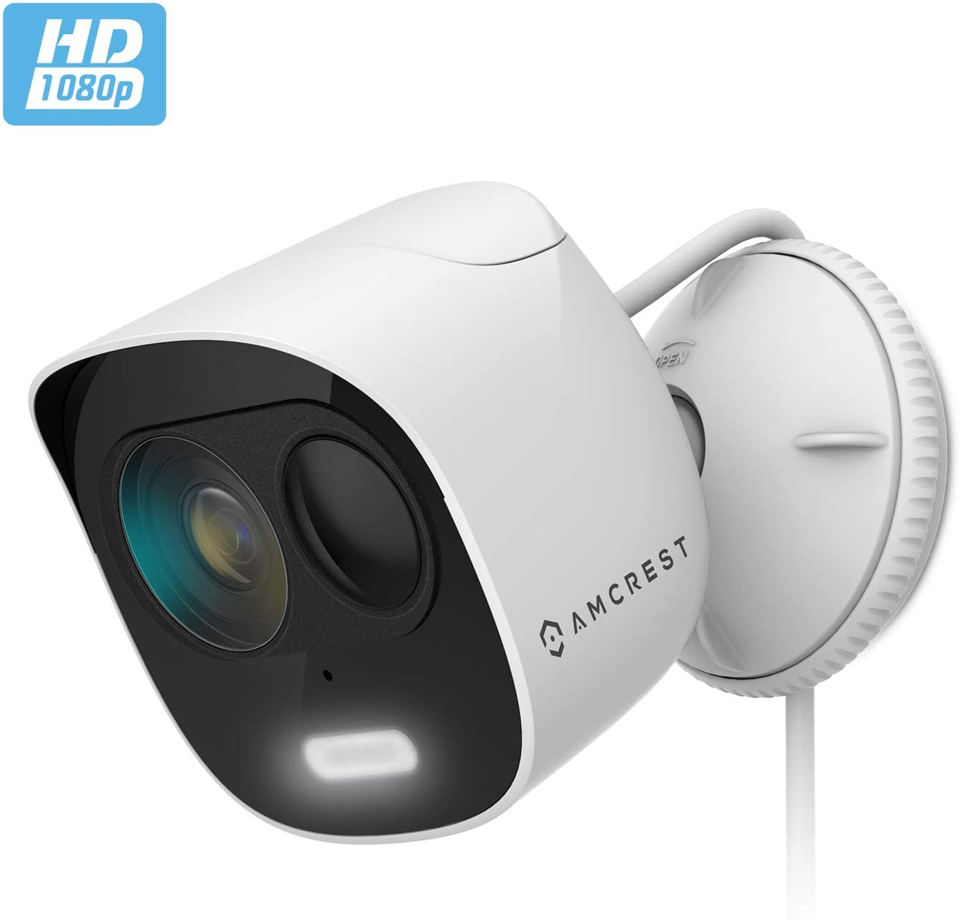 Amcrest Outdoor Security Camera + Spotlight Product Image