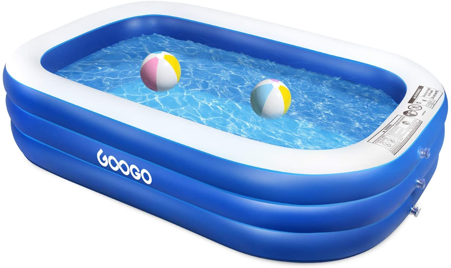 GOOGO Family Inflatable Swimming Pool - Small  Product Image