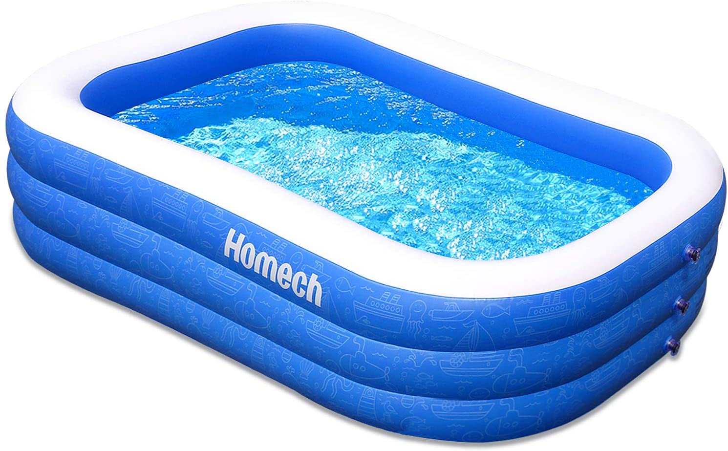 Homech Family Inflatable Pool Image