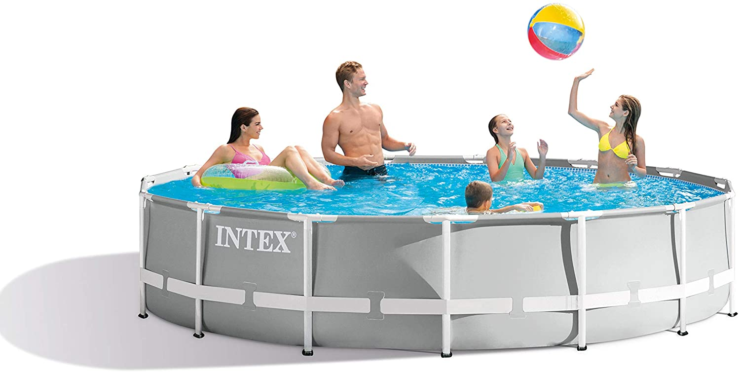 Intex Prism Swimming Pool (15 feet by 42 inches) Image