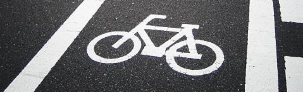 63% of bicyclist deaths happened on major roads with 37% of total deaths happening at intersections. Image