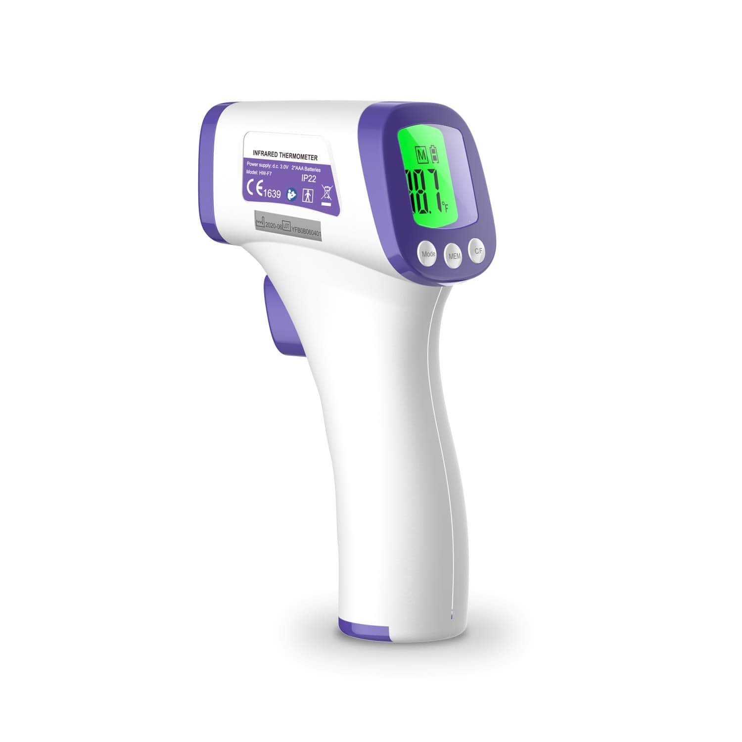 BLScode Non-Contact Forehead Thermometer Image