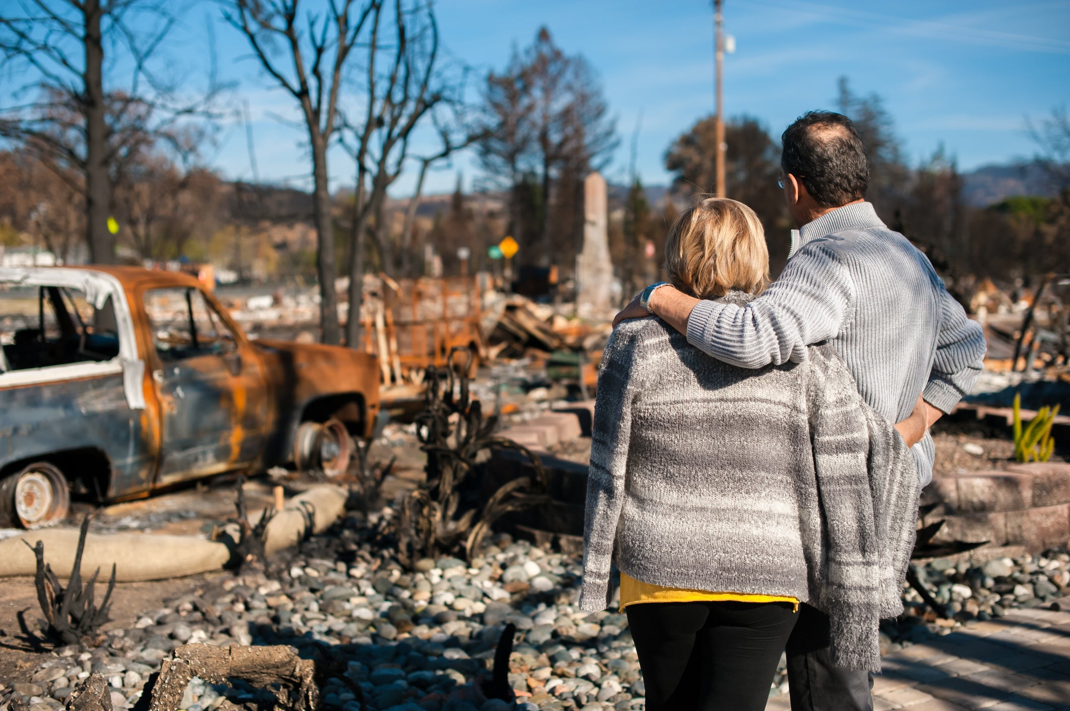 How to Return Home Safely After a Wildfire