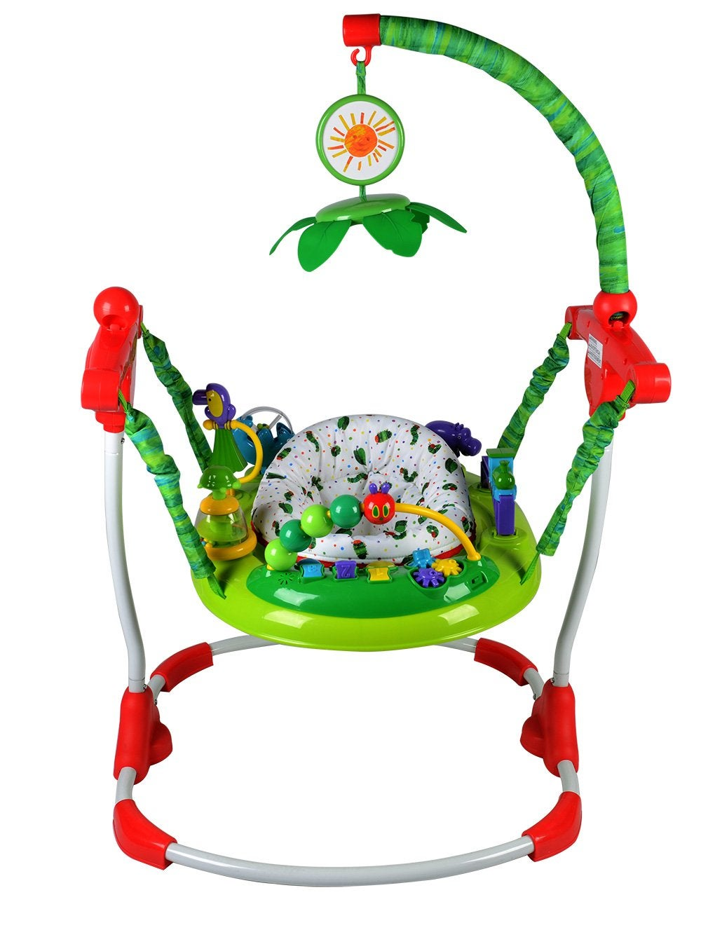 Creative Baby Very Hungry Caterpillar Activity Jumper Image