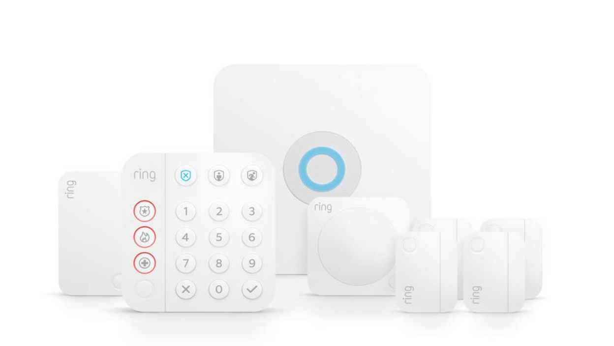 Ring Alarm Security Kit (8 Pieces) package image